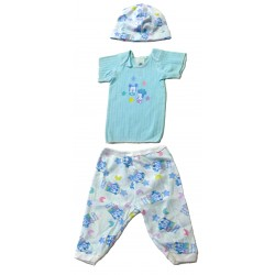 Disney Babies Mickey & Minnie 3-piece Gift Pack - Shirt, Cap, Pant