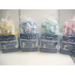 Elegant Kids 2000™ Small Denim Diaper Bag Gift Set
