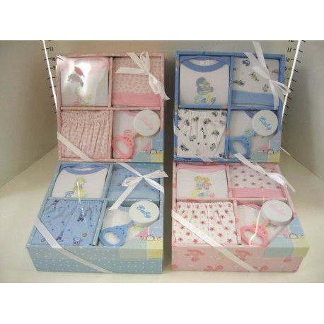 Elegant Kids 2000™ 5-Piece Layette Boxed Gift Set