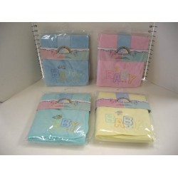 "Elegant Kids 2000™ 2-ply Baby Fleece Blanket (Size: 30"" x 36"")"