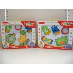 Elegant Kids 2000™ 5 Piece Baby Rattle in Box
