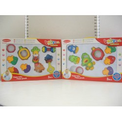 Elegant Kids 2000™ 8 Piece BPA-Free Baby Rattle in Box (EK-31002)