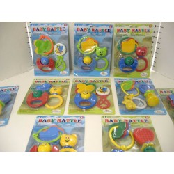 Elegant Kids 2000™ 3 Piece Baby Rattle on Blister Card