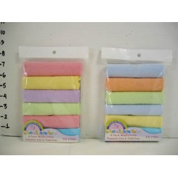 Elegant Kids 2000™ 6 Pack Washcloths (Solid)