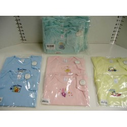 Elegant Kids 2000™ 100% Cotton Bodysuit (Mix Colors Dozen Bulk Pack)