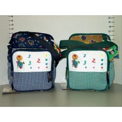 Elegant Kids 2000™ Small Fabric Diaper Bag