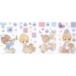 Precious Moments Jumbo Wall Decor Stick-Ups