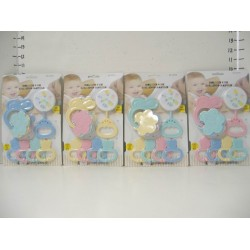 Elegant Kids 2000™ 3-Pk Rattle on Blister