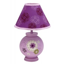 Nojo Lamp and Shade, Pretty In Purple