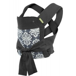Sash Mei Tai Carrier, Black/Gray (200-122)