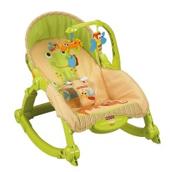 Fisher-Price Newborn-to-Toddler Portable Rocker (T2518)