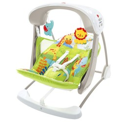 Fisher-Price Take-Along Swing and Seat, Rainforest Friends (CKK59)