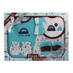 First Smiles™ 7-Piece Layette Boxed Gift Set (TCS-019)