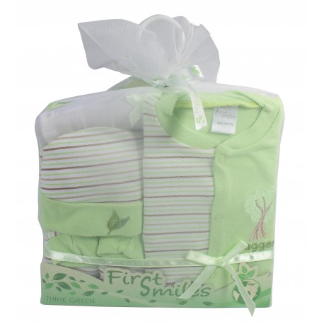 First Smiles™ 5-Piece Layette Gift Set in Tulle Bag (TCS-021)