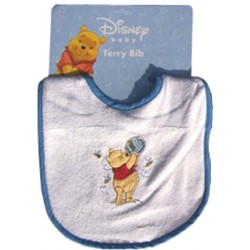 Disney Winnie the Pooh Embroidered Terry Bib (82690)