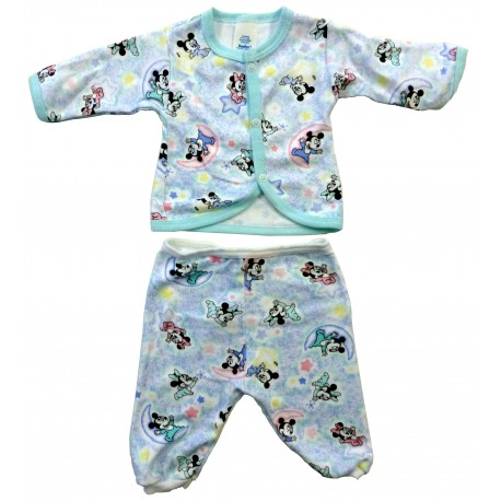 Disney Babies Infant Layette - T-shirt & Pants (Small 14-18 lbs) (83844)