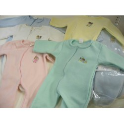 Elegant Kids 2000™ Baby Fleece Sleep N Play w/ Zipper (Dozen Pack) (EK-60171)