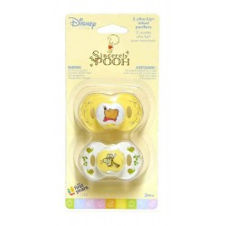 Disney Baby Sincerely Pooh Ultra Kip Infant Pacifiers (Y1232)