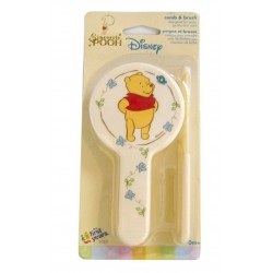 Disney Sincerely Pooh Comb and Brush Set (Y3025)