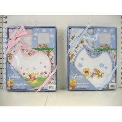 Disney Winnie the Pooh Gift Box Pooh Gift Box (2 Bodysuits, Bib, & Photo Frame) (82827)