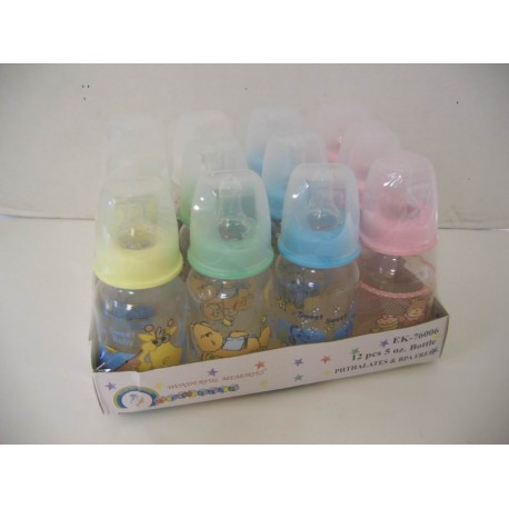 Elegant Kids 2000™ 5 Ounce Bottles, BPA-Free, Dozen Pack
