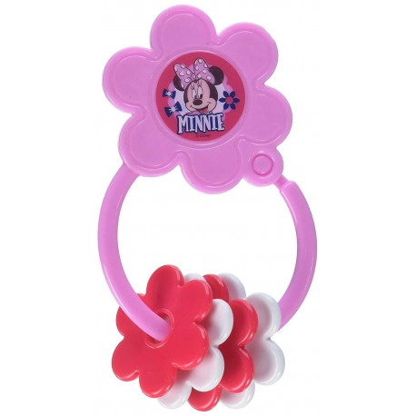 Disney Minnie Mouse Star Shape Keyring Teether (TY60079)