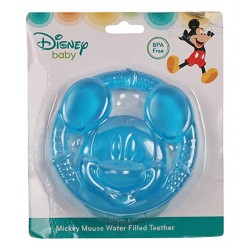 Disney Mickey Mouse Face Icon Water Filled Teether (TY60085)