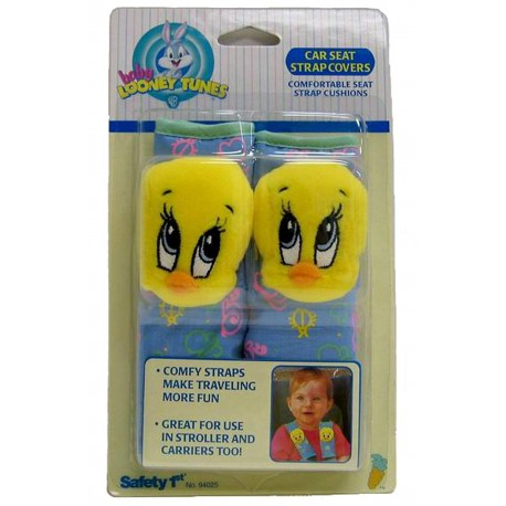 Baby Looney Tunes Tweety Car Seat Strap Covers (94025)