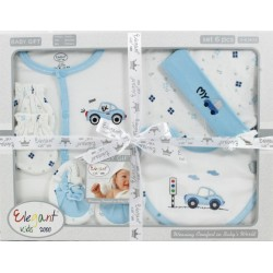 Elegant Kids 2000™ 6-Piece Layette Boxed Gift Set (EL-3025)
