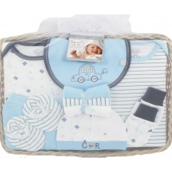 Elegant Kids 2000™ 11-Piece Layette Boxed Gift Basket (EL-3026)