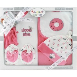Elegant Kids 2000™ 6-Piece Layette Boxed Gift Set (EL-3035)