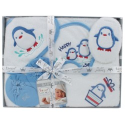 Elegant Kids 2000™ 6-Piece Hooded Towel Boxed Gift Set (EL-3036)