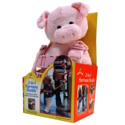 Goldbug Animal 2 in 1 Harness Buddy, Pig