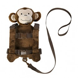 Goldbug Animal 2 in 1 Harness Buddy, Monkey