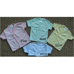 Elegant Kids 2000™ Girls Double Vested T-Shirts (CVC Interlock) (EK-15021_