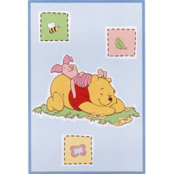 Disney Baby Winnie the Pooh Bedtime Stories Luxury Plush Throw Blanket (30 in. x 45 in.)