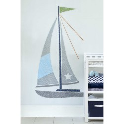 Wendy Bellissimo™ Mix & Match Sailboat Wall Decals